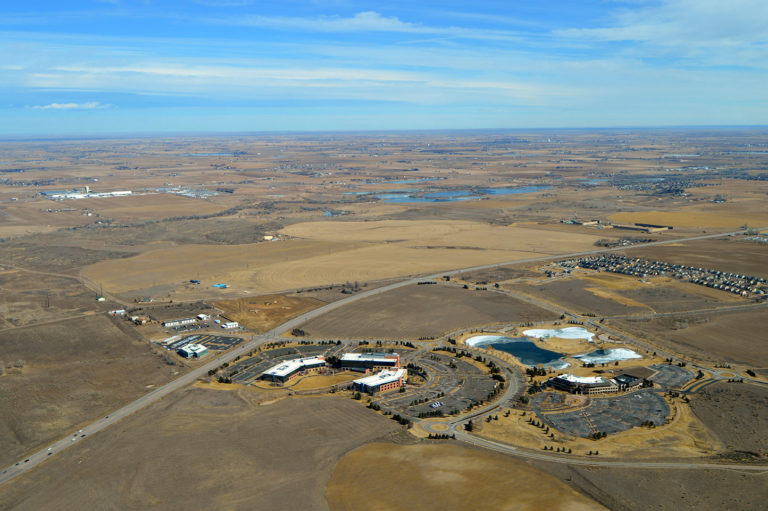 Poudre Heights - Aerial